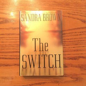 Sandra Brown 'The Switch' hardcover novel